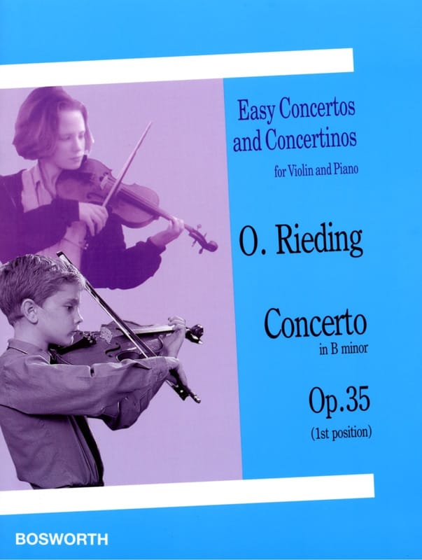 Oskar Rieding - Concerto op. 35 in B minor - Partition - di-arezzo.co.uk
