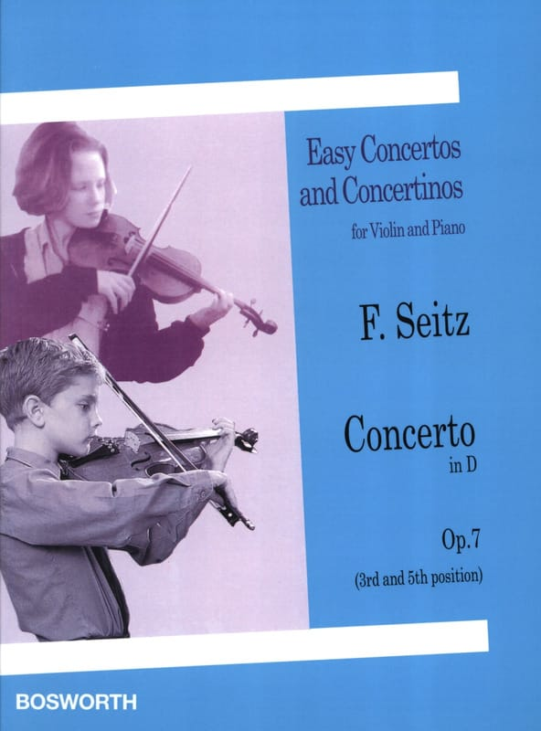 Friedrich Seitz - Concerto in Re Opus 7 - Partition - di-arezzo.co.uk