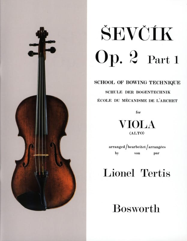 Otakar Sevcik - Studies Opus 2 / Part 1 - Alto - Partition - di-arezzo.co.uk