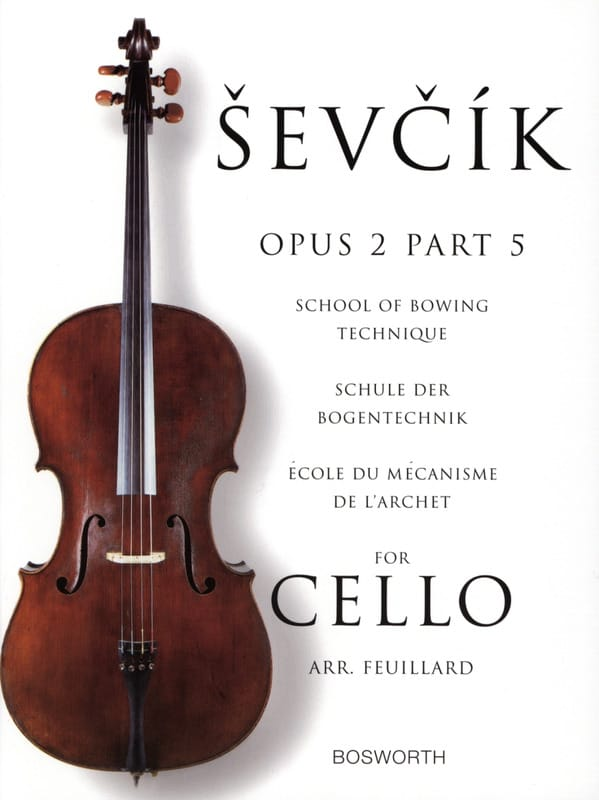 Otakar Sevcik - Studies Opus 2 / Part 5 - Cello - Partition - di-arezzo.co.uk