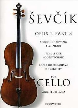 Otakar Sevcik - Studies Opus 2 / Part 3 - Cello - Partition - di-arezzo.co.uk