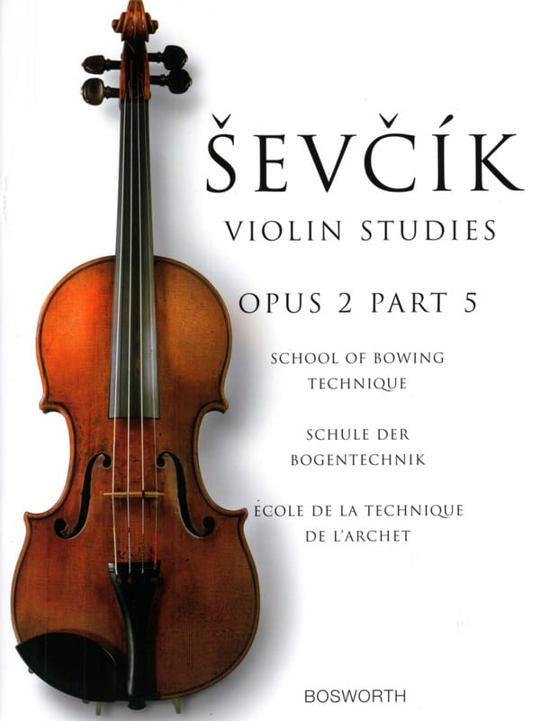 Otakar Sevcik - Etudes Opus 2 / Part 5 - Violin - Partition - di-arezzo.co.uk