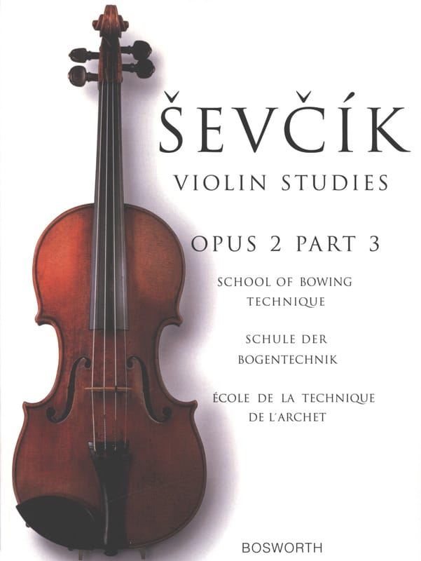 Otakar Sevcik - Etudes Opus 2 / Part 3 - Violin - Partition - di-arezzo.co.uk