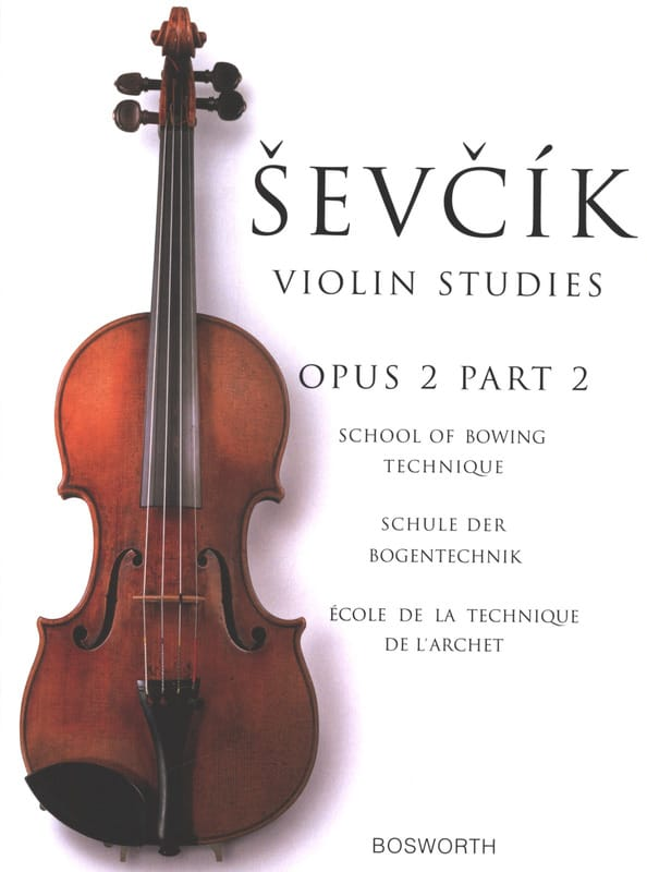 Otakar Sevcik - Etudes Opus 2 / Part 2 - Violin - Partition - di-arezzo.co.uk