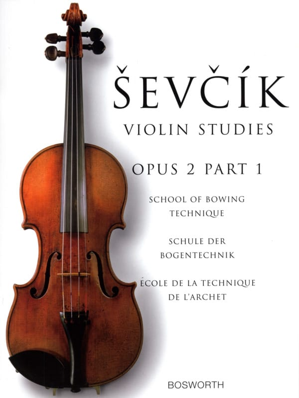 Otokar Sevcik - Etudes Opus 2 / Part 1 - Violin - Partition - di-arezzo.it