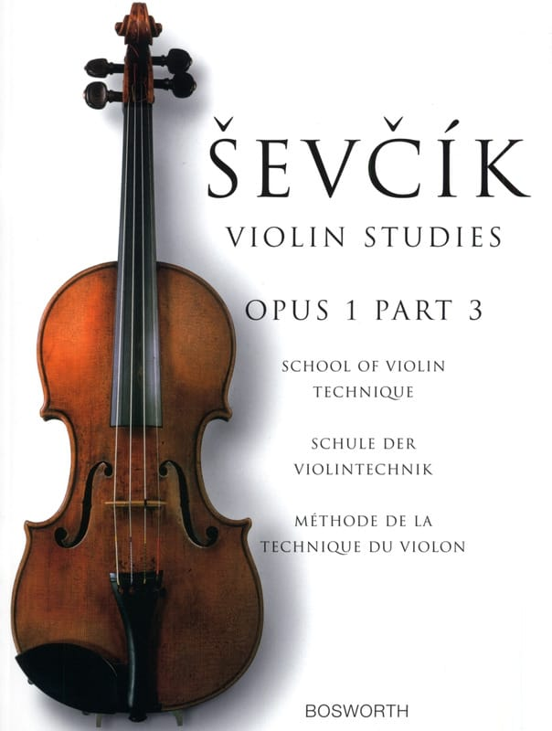 Otakar Sevcik - Etudes Opus 1 / Part 3 - Violin - Partition - di-arezzo.it