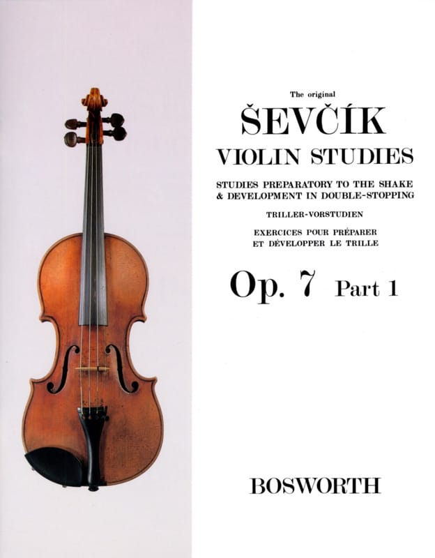 Otakar Sevcik - Etudes Opus 7 / Part 1 - Violin - Partition - di-arezzo.co.uk