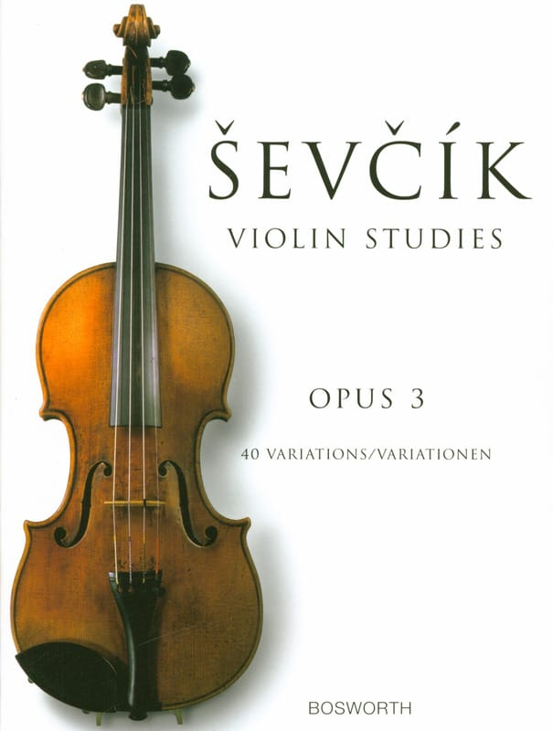Otakar Sevcik - Etudes Opus 3 - Violin - Partition - di-arezzo.it