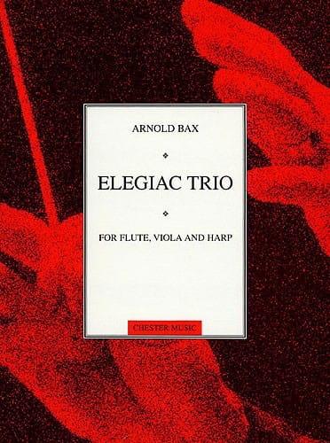 Elegiac Trio - Flute viola harp Score + Parts - laflutedepan.com