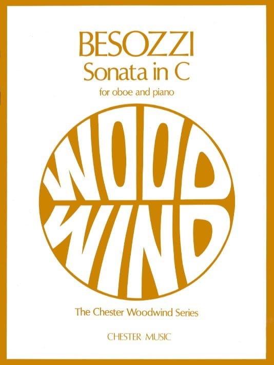 Sonata en DO - Alessandro Besozzi - Partition - laflutedepan.com