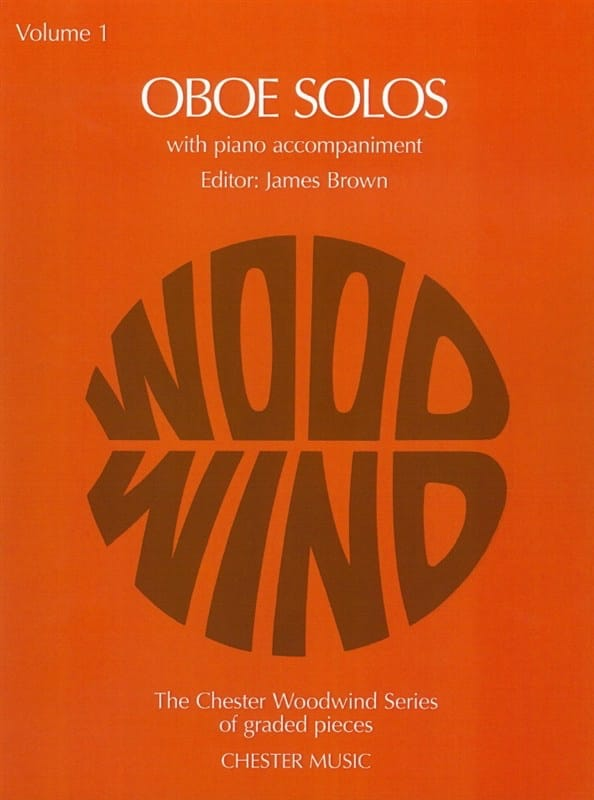 James Brown - Oboe Solos - Volumen 1 - Partition - di-arezzo.es