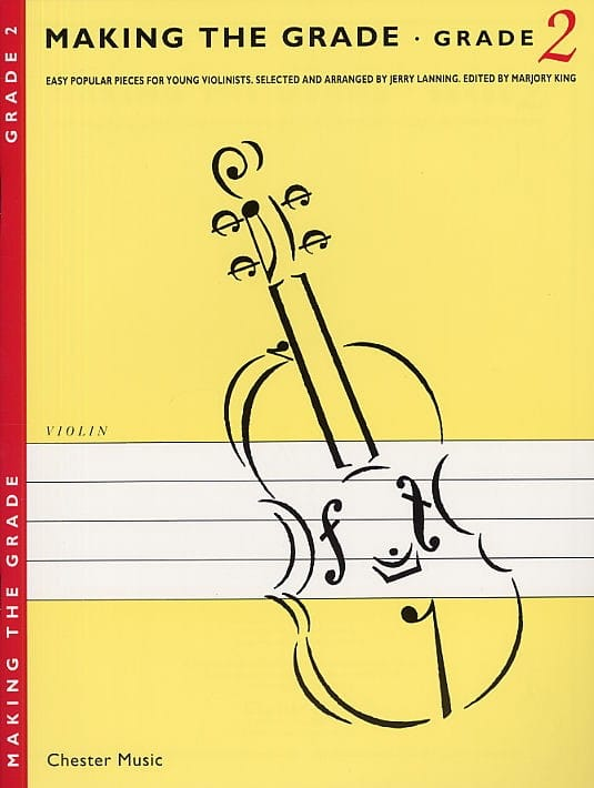 Making the Grade Violin - Grade 2 - Jerry Lanning - laflutedepan.com