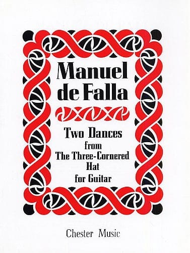 2 Dances from The three-cornered hat - Guitar - laflutedepan.com