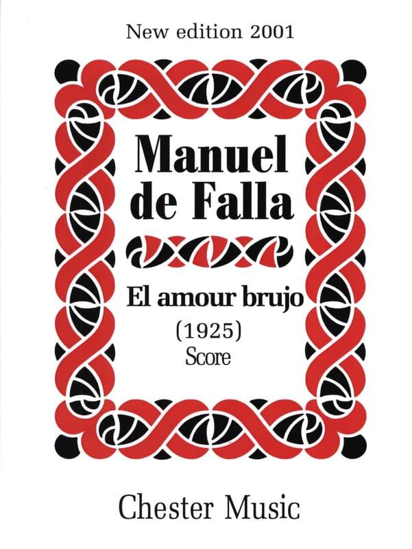 DE FALLA - El amor brujo 1925 - Score - Partition - di-arezzo.co.uk