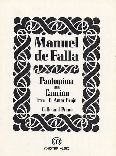 DE FALLA - Pantomima and Cancion from El Amor Brujo - Partition - di-arezzo.co.uk