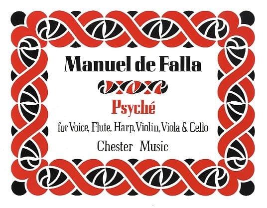 Psyché - Score - DE FALLA - Partition - laflutedepan.com