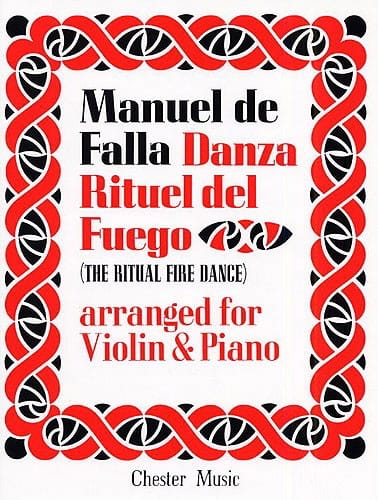 DE FALLA - Danza Ritual del Fuego - Violin - Partition - di-arezzo.co.uk