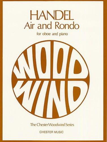 Air and Rondo -Oboe piano - HAENDEL - Partition - laflutedepan.com