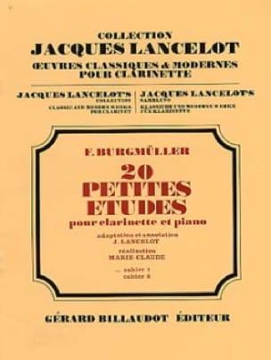 Frédéric Burgmüller - 20 Small Studies - Volume 1 - Partition - di-arezzo.com