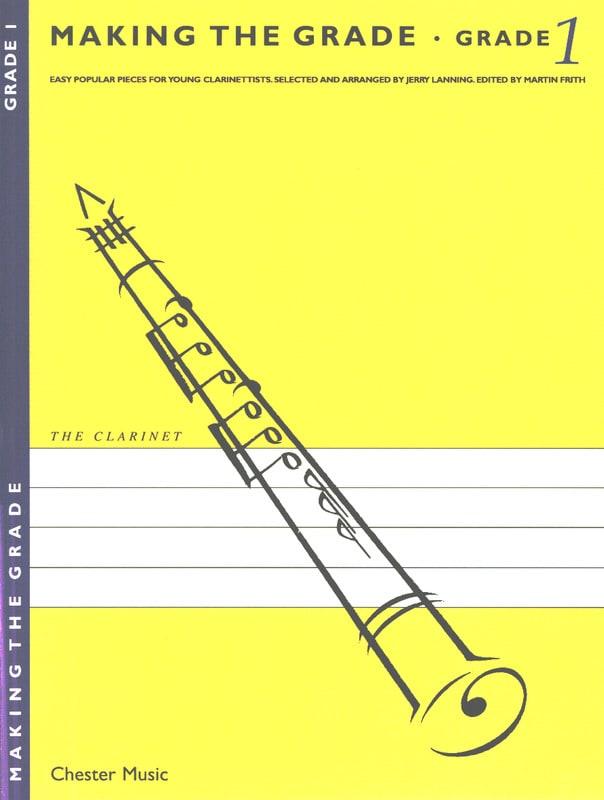 Making the grade Clarinet - Grade 1 - laflutedepan.com