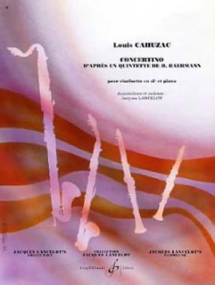 Concertino pour clarinette - Louis Cahuzac - laflutedepan.com
