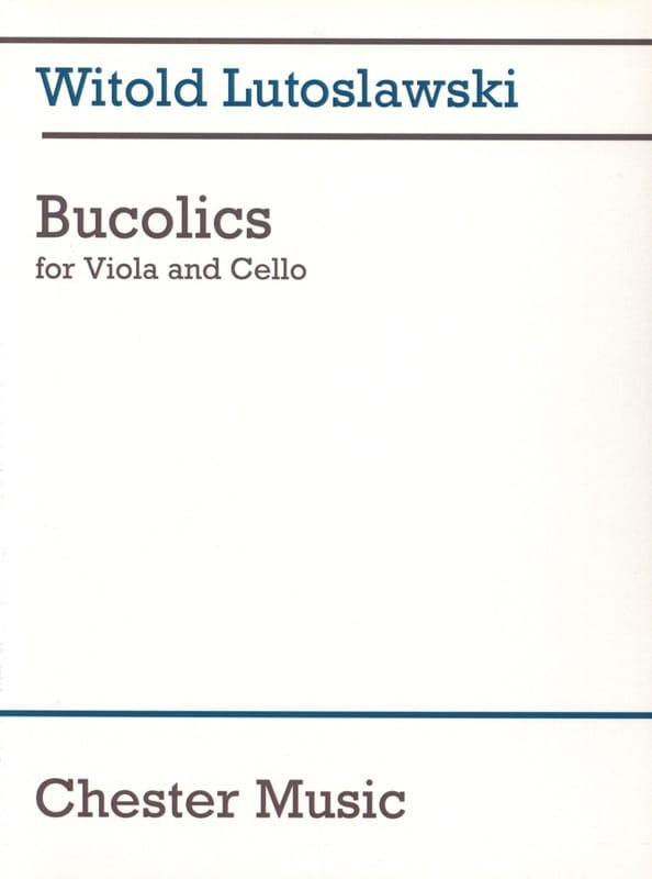 Bucolics - LUTOSLAWSKI - Partition - 0 - laflutedepan.com