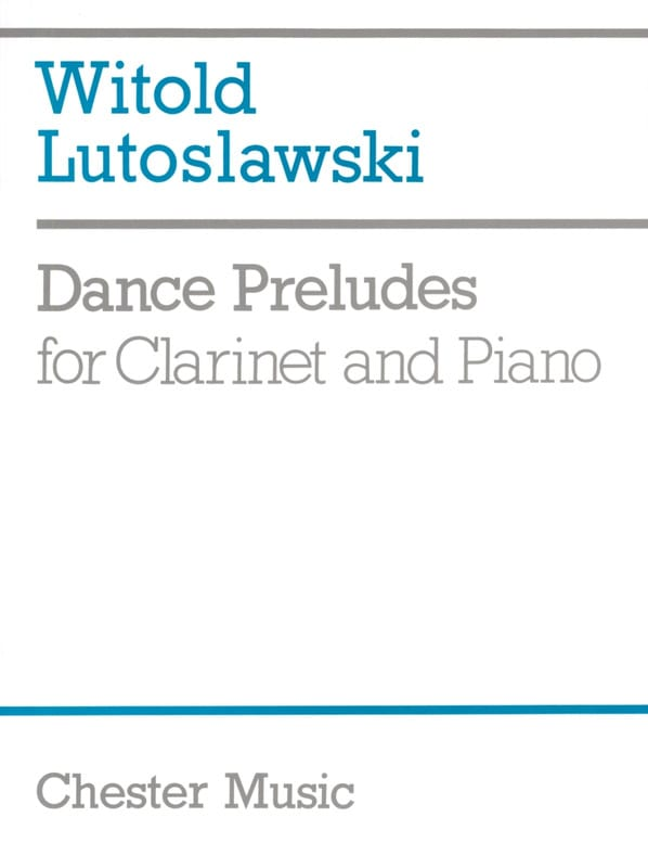 Witold Lutoslawski - Dance Preludes - Partition - di-arezzo.fr