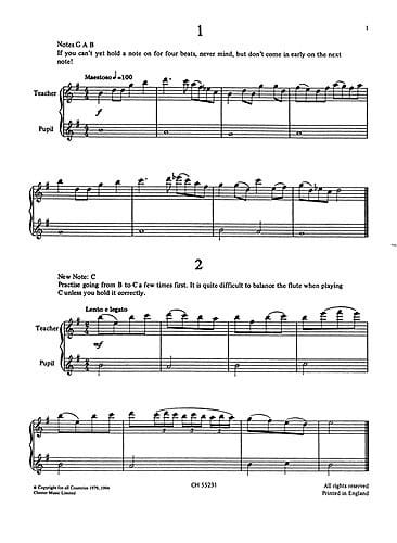 Set Two, Flute Duets Volume 1 - Graham Lyons - laflutedepan.com