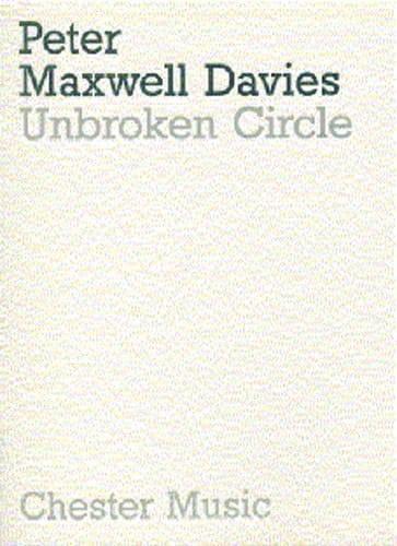 Unbroken circle - Score - Davies Peter Maxwell - laflutedepan.com