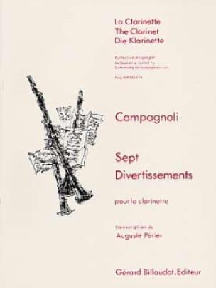 7 Divertissements - Clarinette - laflutedepan.com