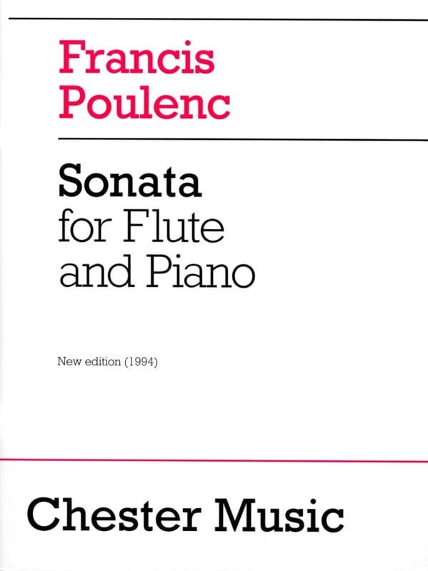 Francis Poulenc - Sonata - Partition - di-arezzo.com