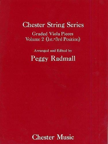 Graded Viola pieces, Volume 2 - Chester String Series - laflutedepan.com