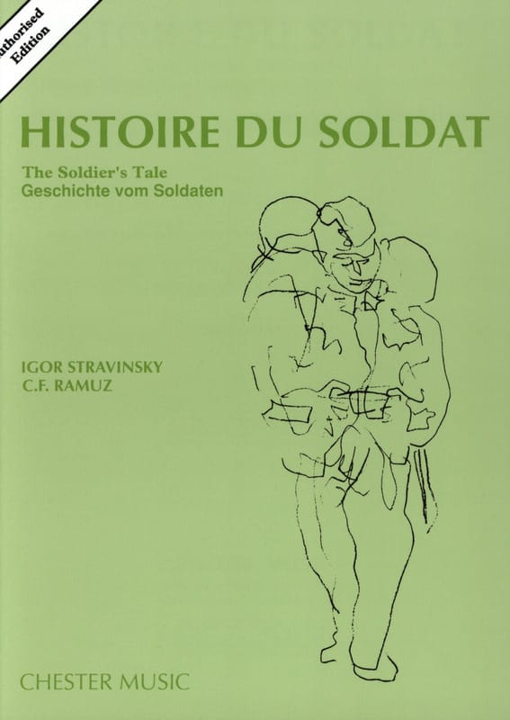 Igor Stravinsky - Soldier's Story - Score - Partition - di-arezzo.co.uk