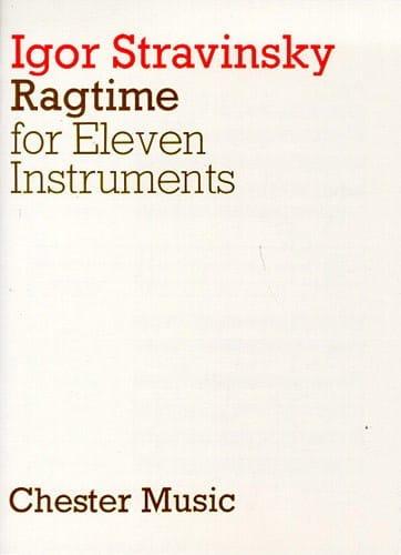 Ragtime - Score - STRAVINSKY - Partition - laflutedepan.com