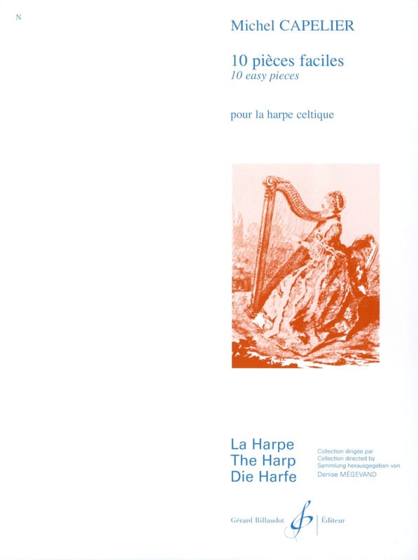 10 Pièces faciles - Michel Capelier - Partition - laflutedepan.com