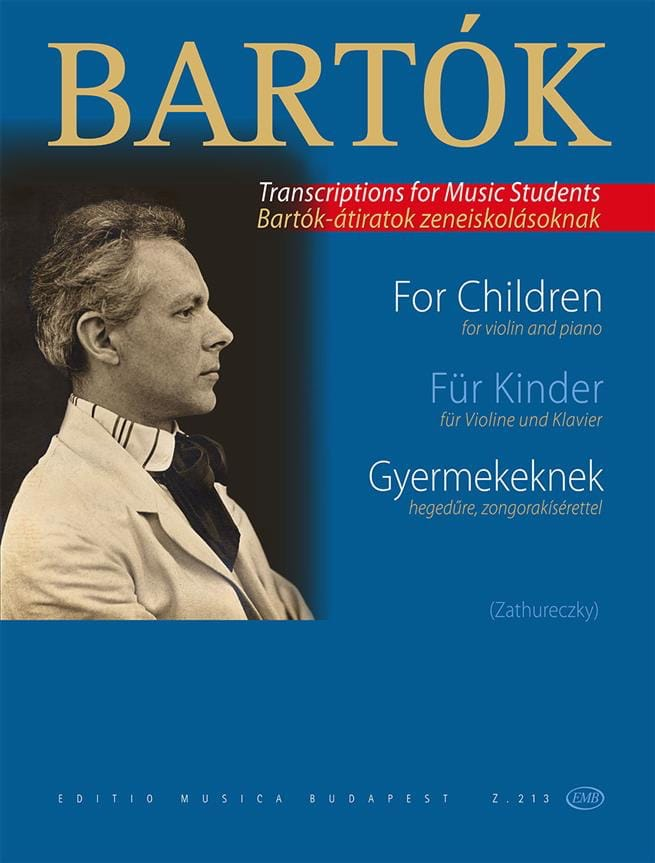 BARTOK - For Gyermekeknek Children - Partition - di-arezzo.co.uk