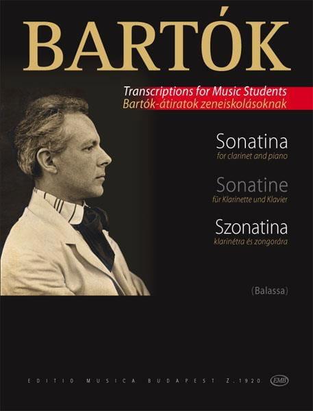BARTOK - Sonatine - Klarinette Klavier - Partition - di-arezzo.de