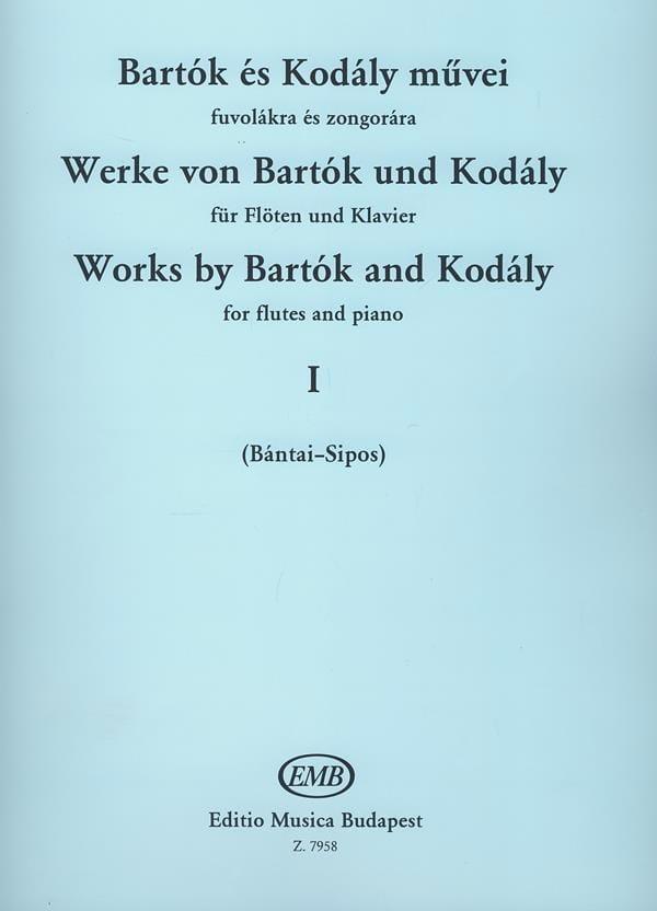 BARTOK - Werke von Bartok y Kodaly - Bd. 1 - Flöte Klavier - Partition - di-arezzo.es