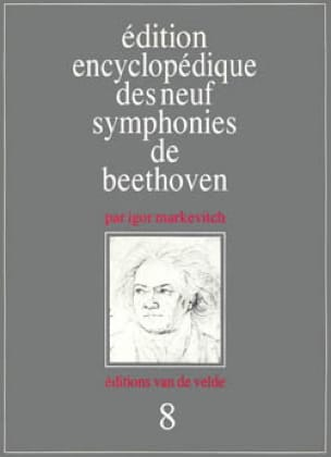 Symphonie n° 8 - Conducteur - BEETHOVEN - Partition - laflutedepan.com