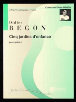 5 Jardins d'enfance - Didier Begon - Partition - laflutedepan.com