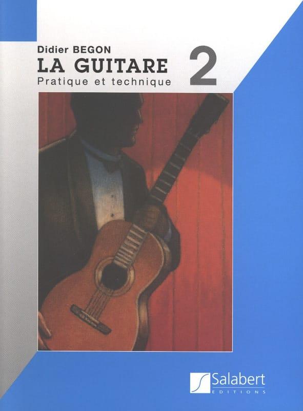 Didier Bégon - Guitar Method Volume 2 - Partition - di-arezzo.co.uk