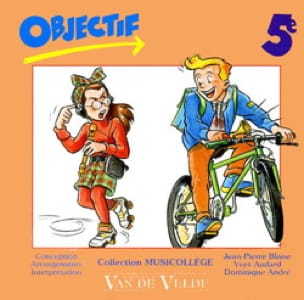 Compact Disque Objectif 5ème - Cd Blaise - laflutedepan.com