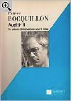 Auditif 2 - Patrice Bocquillon - Partition - laflutedepan.com