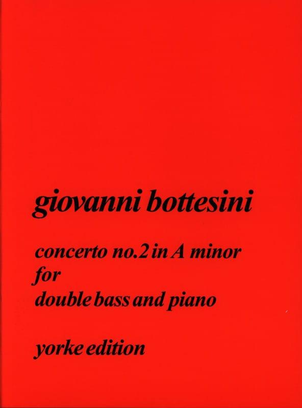 Giovanni Bottesini - Concerto N ° 2 in the Minor - Partition - di-arezzo.co.uk