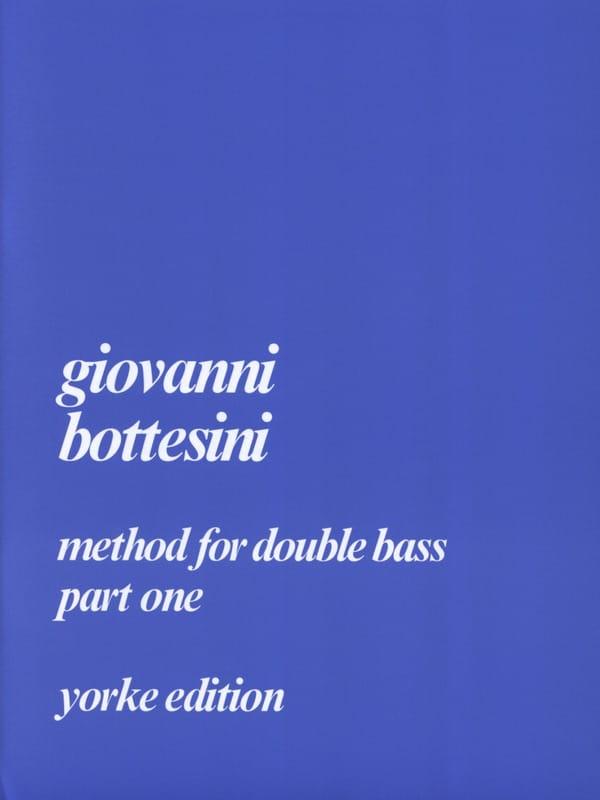 Method For Double Bass Part 1 - BOTTESINI - laflutedepan.com