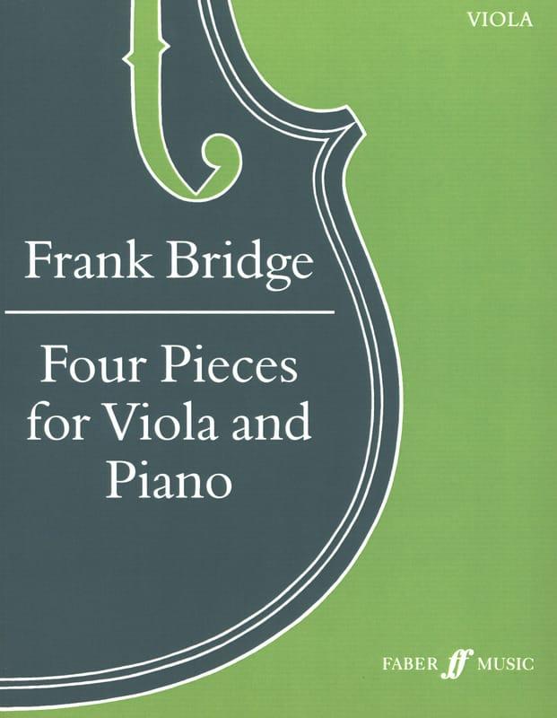 4 Pièces - Alto - Frank Bridge - Partition - Alto - laflutedepan.com