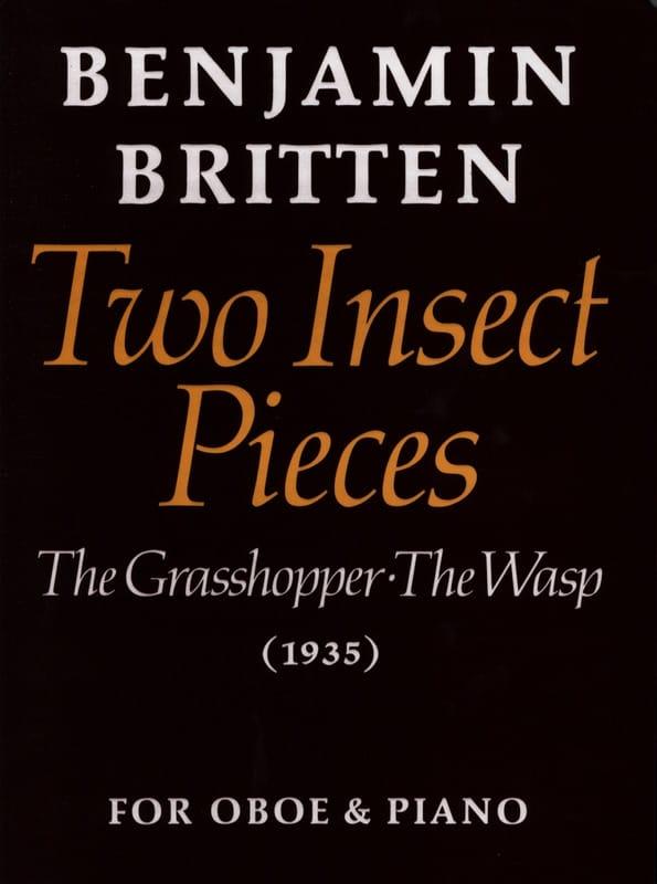 2 Insect pieces - BRITTEN - Partition - Hautbois - laflutedepan.com