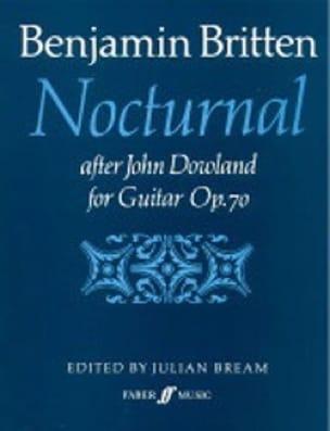 Nocturnal after J. Dowland op. 70 - BRITTEN - laflutedepan.com