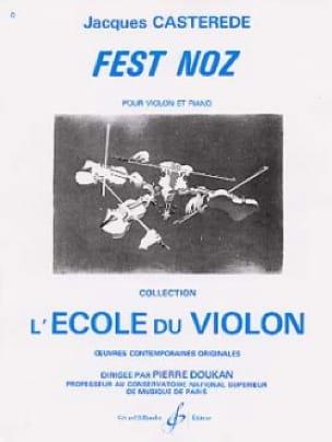 Fest Noz - Jacques Castérède - Partition - Violon - laflutedepan.com