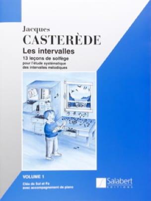 Jacques Castérède - The Intervals - Volume 1 - Partition - di-arezzo.com